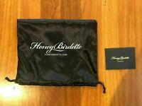 Honey Birdette Black Suspenders Size XL Gigi