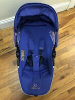 Quinny Zapp Xtra Seat Frame with Seat Fabric for CV262 Model in Purple