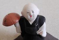 2 inch Japanese VTG Clay Doll : Monk : from Eihei-Ji : made in around 1955