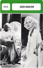 FICHE CINEMA :  JEAN HARLOW -  USA (Biographie/Filmographie)