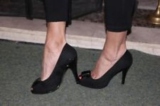 NEXT Stiletto Faux Suede Upper Material Standard (B) Width Heels for Women