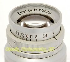 Elmar f=9cm 1:4 Telephoto Lens 90mm by LEITZ Wetzlar for LEICA Screw & Micro 4/3