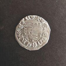 Sigismund Zsigmond 1387-1437 Denar Silver Coin Rare Hungary Scarce Very fine