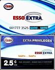 2x ESSO CANADA 2015 CANADIAN OIL EXTRA PRIVILAGES RARE COLLECTIBLE GIFT CARD LOT