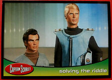 CAPTAIN SCARLET - Card #34 - Solving The Riddle - Cards Inc. 2001