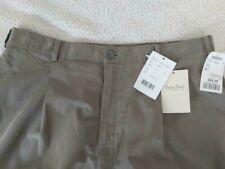 Part Two Womens High Rise Pants Trousers Sz 14 Adjustable Waist Khaki Green NWT