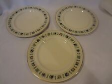 Royal Doulton - Tapestry - TC1024 - 3 Dinner Plates