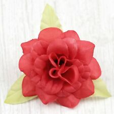 20Pcs-5cm Red Rose Flower Head Artificial Silk Flower Party Wedding Home Decor