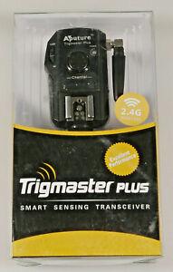 PRL) APUTURE TRIGMASTER PLUS TRANSCEIVER TX/RX NIKON CAMERA FLASH TX1N 2.4G