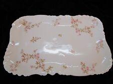 """Haviland Limoges Porcelain 14"""" Rectangular Serving Platter Schleiger 464  c.1890"""