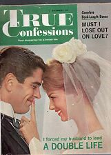 DECEMBER 1961 TRUE CONFESSIONS MAGAZINE-ROMANCE-STORY-VINTAGE ADS-RARE