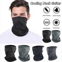 Cooling Face Mask Sun Shield Neck Gaiter Head Cover Balaclava Bandana Headband