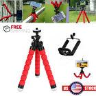 1+x+Red+Tripod+Bracket+Cell+Phone+Holder+Flexible+Octopus+Selfie+Camera+Stander