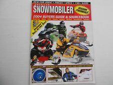 American Snowmobiler magazine 2004 Buyers Guide Ski-Doo REV SnowHawk Blade RX-1