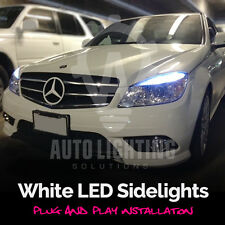 Mercedes C Class W204 2007-2011 Xenon White LED Sidelights Upgrade *SALE*