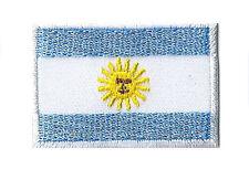 Ecusson patche Argentine petit patch 45x30 mm brodé thermocollant