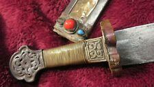 More details for tibetan sword : c.1750 : rare original himalayan piece : very collectible : rare