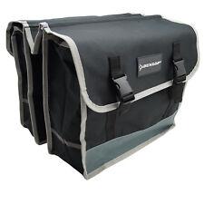 Dunlop Doppel Gepäckträger Tasche Seiten Fahrrad  MTB Hollandrad Satteltasche