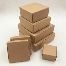 Small Craft Cardboard Boxes Packing Gift Soap Candy Wedding Event Party Supplies