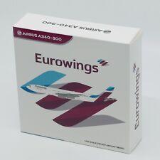 JC Wings XX4423, Eurowings Airbus A340-300, 1:400