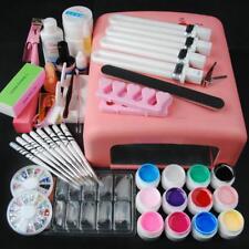 Professional Portable Nail Art Kit Salon Groom Polishing Painting Tool Accessory