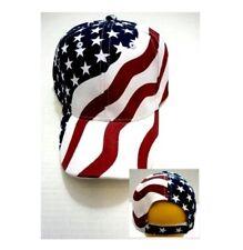 USA American Flag Hat  Star Stripes Red White blue