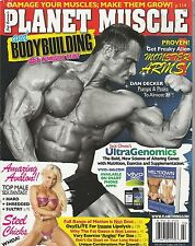 JAN/FEB 2013 PLANET MUSCLE vintage body building magazine DAN DECKER
