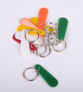 Split Key Rings 20mm with Long Tab pack 10