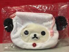 Rilakkuma Panda Plush Drawstring Bag Cute Japan Korilakkuma San-X