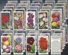 WILLS-FULL SET- GARDEN FLOWERS BY SUDELL (50 CARDS) - EXC