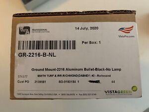 Vista Pro Up and Accent Landscape Lighting GR 2216 Black No Lamp.