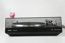 Philips AF 777 Direct Control Plattenspieler Turntable Record Player gecheckt