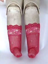 Chaussettes Jumeau®J53 spéciales corps peau-5x2cm-socks leather doll body-France