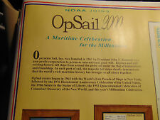Chart of NOAA's 2000 Op Sail Celebration various Ports of Call New York Harbour