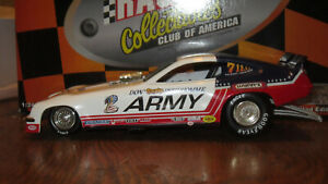 DON PRUDHOMME ARMY  NITRO FUNNY CAR  ACTION 1/24  DIECAST