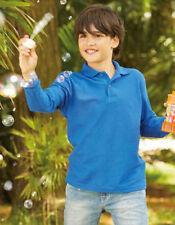 Magliette e maglie manica lunghi marca Fruit of the Loom per bambini dai 2 ai 16 anni misto cotone