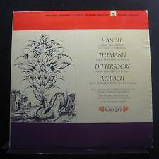 Handel, Telemann, Dittersdorf - Oboe Concertos, Bach Suite No. 5 LP VG+ SR90403