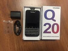BlackBerry Classic Q20 16GB Black AT&T (Unlocked) Smartphone B* Cosmetic
