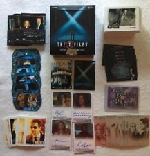 X-Files Seasons 10 & 11 Trading Cards Partial Mini-Master, 4 Autographs