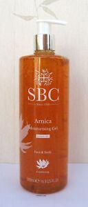 SBC  Arnica Moisturising gel Giant 500ml Pump New
