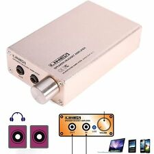5V Mini Hi-Fi Stereo Digital Audio Amplifier mp3 iPod home + Power + Audio cable