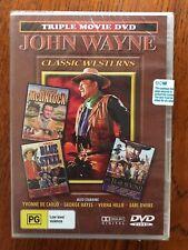 McLintock / Blue Steel / The Trail Beyond John Wayne DVD Region All New & Sealed