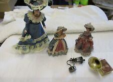 More details for job lot various dolls house victorian ladies miniature accessories