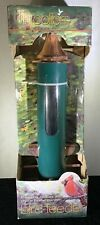 Colibri Collection All Metal with Copper Accent Bird Feeder 18in Tall-Brand New