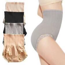 2Pcs Elastic Japan Munafie High Waist Slimming Panty Seamless Body BellySh New