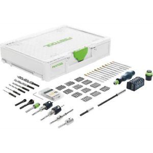 Festool Montagepaket SYS3 M 89 ORG CE-SORT für Akku Bohrschrauber FastFix 576804
