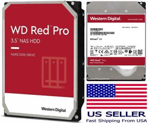 """WD Internal Hard Drive 14TB-6TB WD Red Pro NAS 3.5"""" HDD 7200 RPM SATA"""