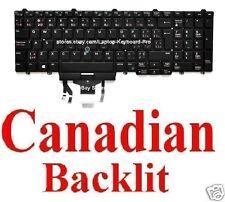 Dell Latitude E5550 Keyboard - CA Canadian - 01R2M9 NSK-LL0BC PK1313M1B34