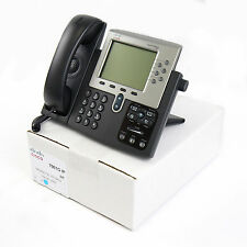 Cisco CP-7961G 7961 SIP VoIP IP Telephone Phone PoE -Lot Refurb-Warranty