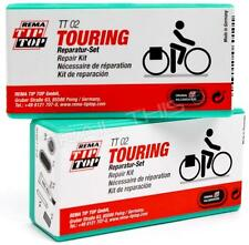 Two (2) Pack Rema TT02 Bike Patch Tour / Touring Tube Puncture Repair Kits TT 02